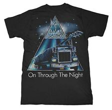 Officially licensed Def Leppard on Through the Night T-Shirt