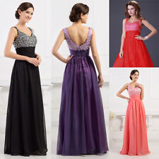 ❤XMAS FINAL DISCOUNT❤ Sparkly Beaded Party Gown Prom Bridesmaids Evening Dress