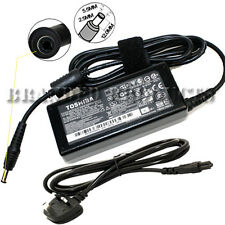 New 100% Genuine Original 65W Toshiba Laptop Battery Charger Power Adapter Cable