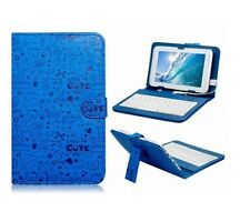 CASE FOR TESCO HUDL 2 TABLET PC WITH BUILT IN USB KEYBOARD