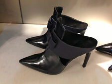 ZARA HIGH-HEELED MULES WITH BOW NAVY BLUE 36-41 Ref. 6249/301