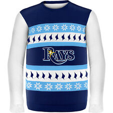 Forever Collectibles Men's Tampa Bay Rays One Too Many Ugly Sweater