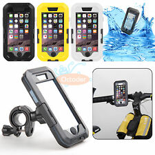 """Waterproof Bicycle Bike Handlebar Case Bag Pouch Holder Mount for iPhone 6 4.7"""""""
