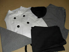Complete Chefs Outfit (Professional/Fancy Dress)