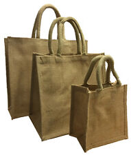 Jute Bags - Hessian Crafting Gift Supply, 10x, 25x, 50x, 100x, 500x, Wholesale