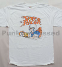 Speed Racer - Mach 5 Distressed white t-shirt - Official Merch
