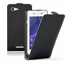 ULTRA SLIM Leather Flip Case Cover Pouch for Sony Xperia E3 experia D2202, D2203
