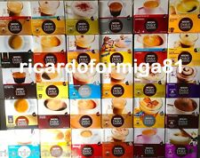Nescafe Dolce Gusto Coffee Capsules - 11 Flavours to choose from. Box of 16 Pods