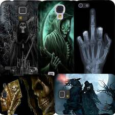 Grim Reaper Skull Skeleton Cover Case iPhone 4S 5S 5C 6 + Galaxy S3 S4 S5 Note 4