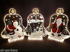Christmas Rope Light Decoration Outdoor Indoor Garden Ropelight Santa Snowman