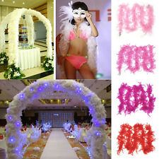 Latest Feather Boa Fluffy Flower Craft Costume Dressup Wedding Party Home Decor