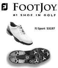 Brand New FootJoy Golf Shoes FJ Sport  White Soft Spikes 53197 -$145