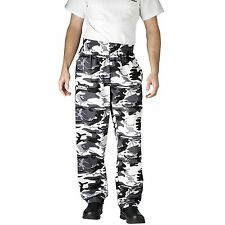 Chefwear 3500-89 Ultimate Chef Pant Arctic Camoflage all sizes XS-4XL NEW!
