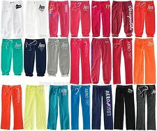 AEROPOSTALE WOMENS SWEAT PANTS CAPRI CLASSIC CINCH LOUNGE SLEEP DORM SWEATS NWT