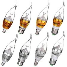 E27 E14 E12 B22 Flame Dimmable 3W 6W 9W LED Chandelier Candle Light Bulb Lamp