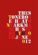 The Stone Roses - Heaton Park June 2012 Repro Poster, A4 & A3, Typography