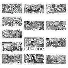 32 Styles Story Design Nail Art DIY Image Stamping Plates Manicure Template HOT