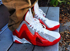 "Reebok Kamikaze II Mid Mens Shoes ""Ghost of Christmas Past"" White Red  V61434"