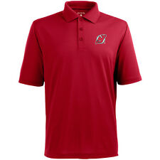 Antigua Men's New Jersey Devils Pique Xtra Lite Polo