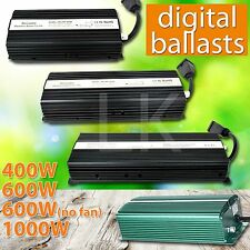 1000W 600W 400W 240V 120V HPS MH Grow Room Hydroponic Dimmable Digital Ballast