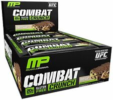 Combat Crunch Protein Bars  by MusclePharm (12 Bars) Choose Flavor FREE SHIPPING