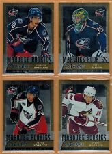 2008-09 , OPC , O-PEE-CHEE , METAL X , MARQUEE ROOKIES ,PICK FROM DROP-DOWN LIST