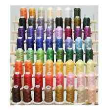 3000 Yard Overlocking Sewing Machine Polyester Thread Line string Cones 50 Color