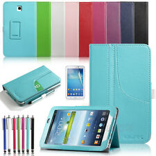 PU Leather Stand Case Cover for Samsung Galaxy Tab3 7.0 7inch T210 P3200 P3210