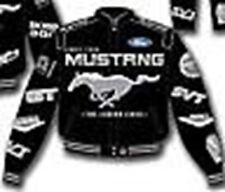 Mustang Multi-Logo Jacket in Blue & Red - Mach 1, BOSS, Ford Oval, Cobra R, SVT!