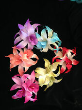 Lily Flowers On Hair Clip Corsage ( More colours Available )