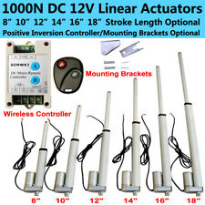 Multi-function Heavy Duty Electronic Linear Actuators DC 12V 220 Pound Max Lift