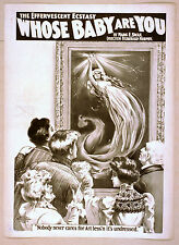 Photo Print Vintage Poster: Stage Theatre Flyer Whose Baby Are You #01