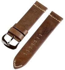 PREMIUM 2 PIECE VINTAGE BROWN LEATHER INTERCHANGEABLE Watch Band Strap Fits IWC