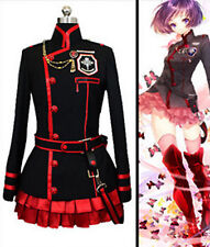 New D GRAY MAN Lenalee·Lee Anime Black Red Cosplay Costume Suit Cosplay fancy