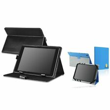 """Color Leather Case Cover Magnetic Stand For 10"""" 10.1"""" Android Tablet PC ePad"""
