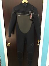 O'neill Pyrotech FZ 3/2 Wetsuit Blk/Blk (New With Tags)