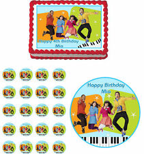 Fresh Beat Band Edible Birthday Cake Cupcake Topper Party Decoration
