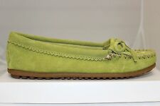 Women's Minnetonka Thunderbird II Moccasin Slippers Lime 6095 Brand New In Box