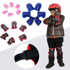 Kids Skating Roller Skateboard Cycling Protector Pads Gear for Knee Elbow Wrist