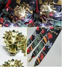 LIMITED* WATCH THE THRONE WTT INSPIRED SHOELACE GOLD LACE LOCK WHAT THE LEBRON