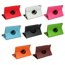 360 Degree Rotating PU Leather Case Cover Swivel Stand for Apple iPad Air