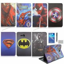 for Samsung GALAXY Tab 3 Lite T110 T111 cartoon PU leather case covers for boys