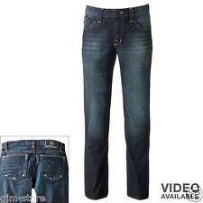 Rock Republic Fatality Neil Straight Distressed Jeans 30 31 32 33 34 36 38