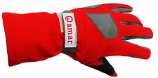 Nomex & Leather Car Racing Gloves Fire Retardant, Driving, Flying, Driver