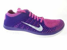 NIKE FREE FLYKNIT 4.0 WOMEN'S RUNNING SHOES SZ 8.5, #631050-615