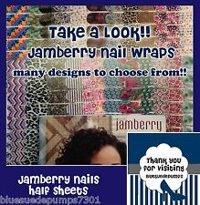 Jamberry Half Sheet Nail Wrap Shield New Current Designs Sister Exclusive