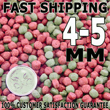 Premium Bulk Goldfish, Koi & Tropical 4 - 5mm Aqua Floating Fish Food Pellets