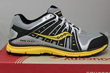 Youth's Saucony B Grid Flex Silver/Yellow/Black SY41539 Athletic Sneakers New