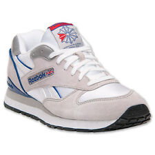 Reebok Classic GL2620 Men's Running Shoes Vintage Retro White Blue V56203 NEW!