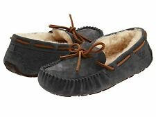 Women's Shoes UGG Dakota Moccasin Slippers 5612 Pewter 5 6 7 8 9 10 *New*